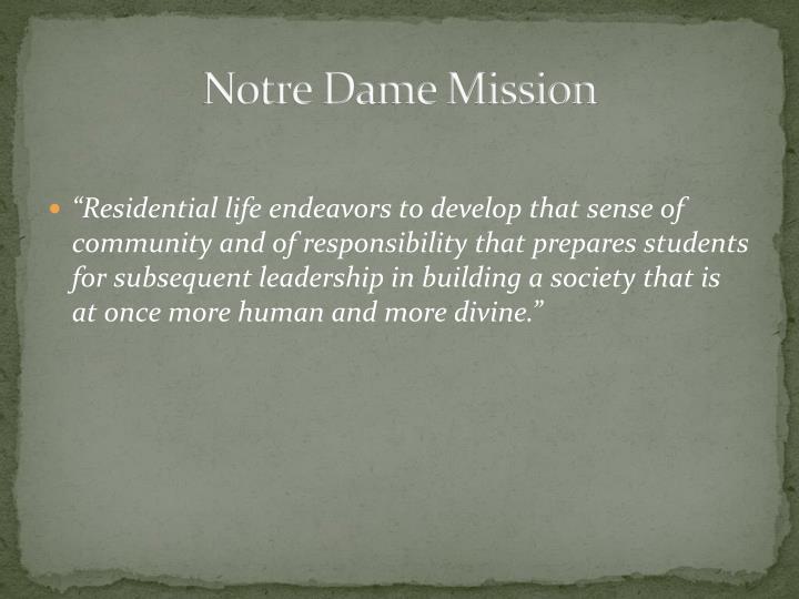 Notre Dame Mission