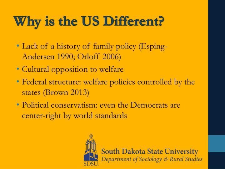 Why is the US Different?