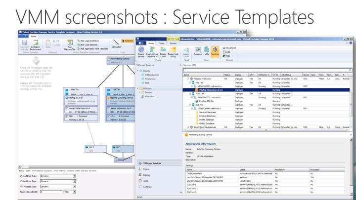 VMM screenshots :