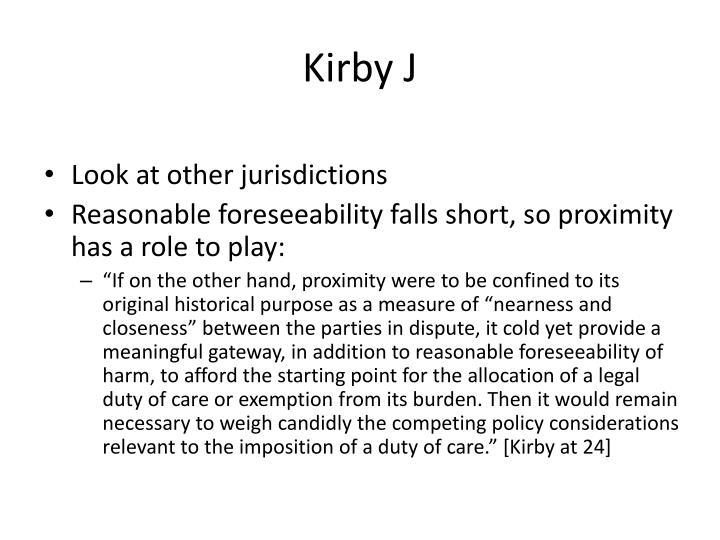 Kirby J