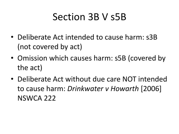 Section 3B V s5B