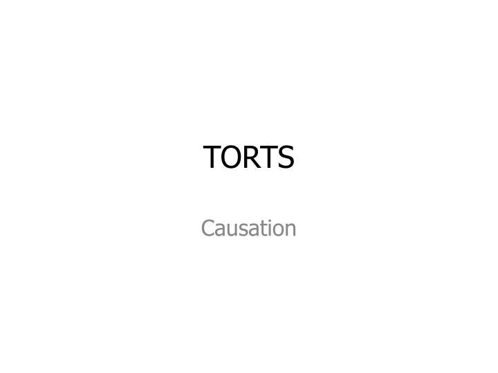 TORTS