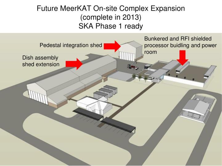 Future MeerKAT On-site Complex Expansion