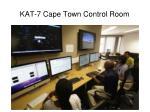 kat 7 cape town control room