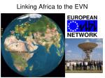 linking africa to the e vn