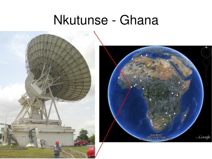 Nkutunse - Ghana
