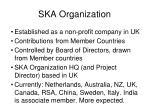 ska organization