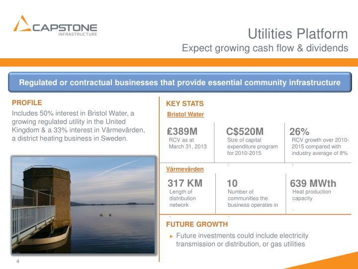 Utilities Platform