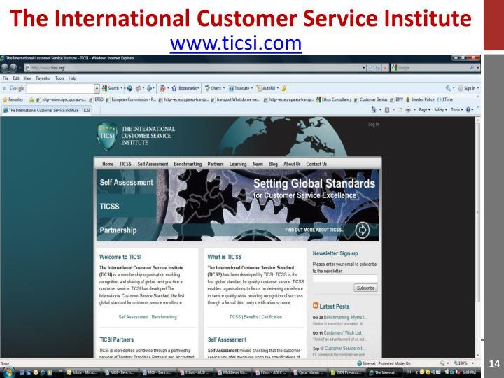 The International Customer Service Institute