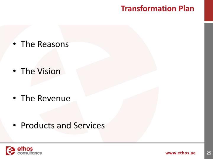 Transformation Plan