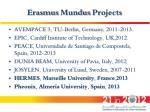 erasmus mundus projects