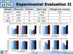 experimental evaluation ii
