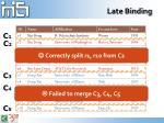 late binding2