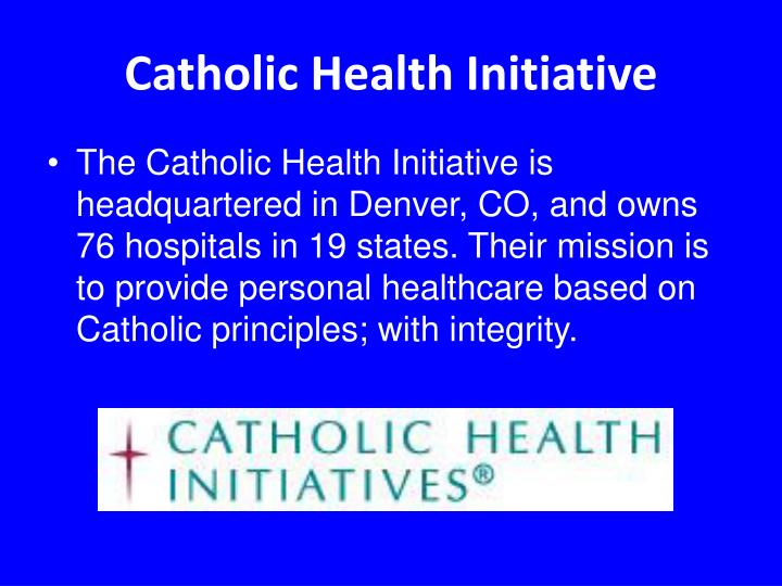 Catholic Health Initiative