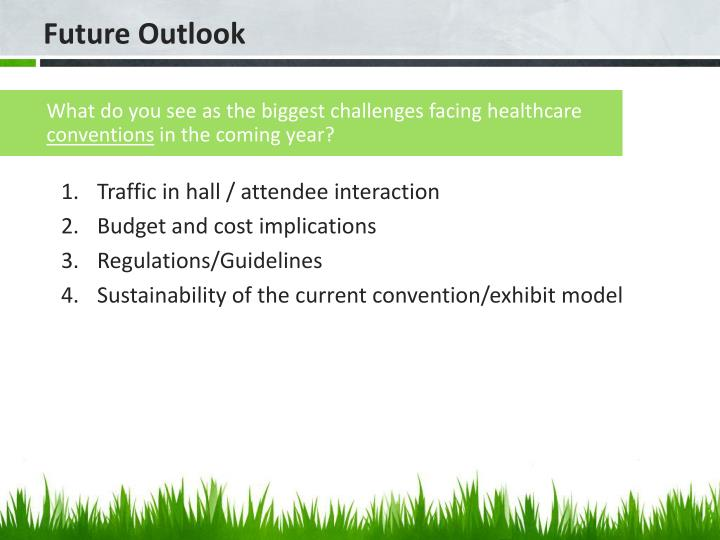 What do you see as the biggest challenges facing healthcare