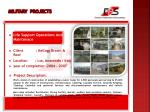 military projects11