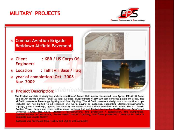 Military  Projects
