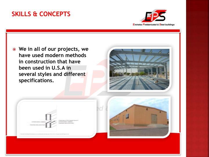 Skills & Concepts