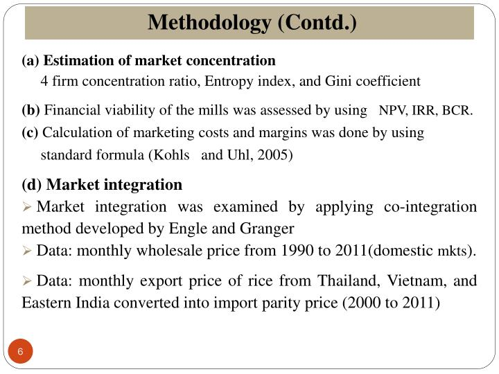 Methodology (Contd.)