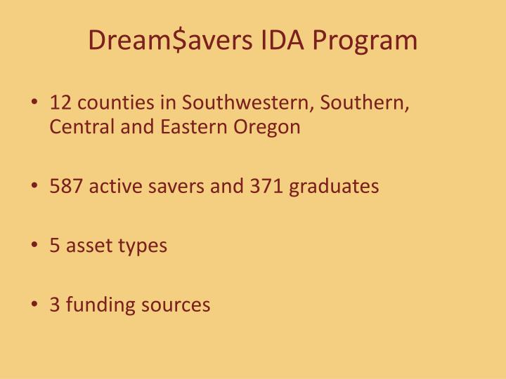 Dream$avers IDA Program