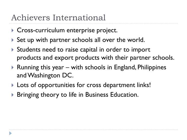 Achievers International
