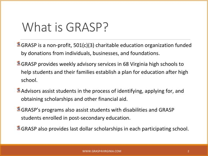 What is grasp