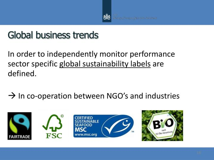Global business trends