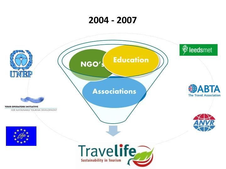 2004 - 2007