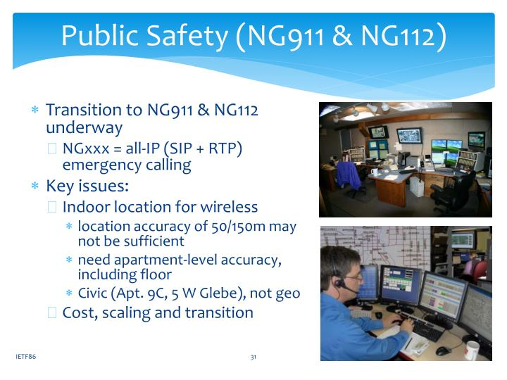 Public Safety (NG911 & NG112)