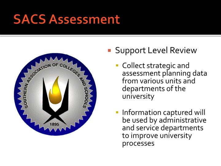 SACS Assessment