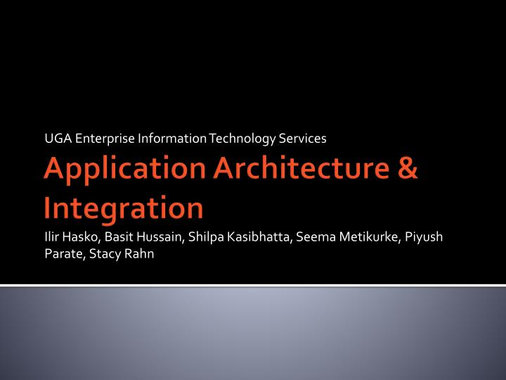 UGA Enterprise Information Technology Services