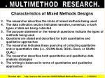 multimethod research3
