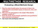 multimethod research5