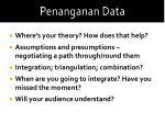 penanganan data