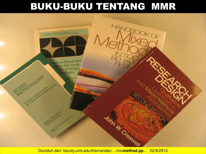 BUKU-BUKU TENTANG  MMR