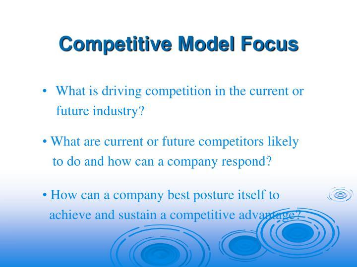 Competitive Model Focus
