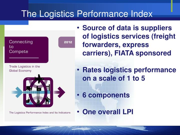 The Logistics Performance Index