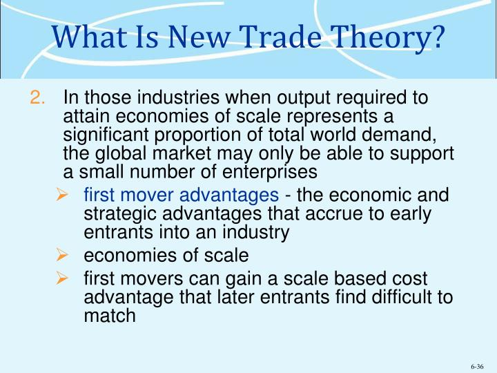 """new trade theory is a myth That's telling everyone else why they should love free trade too  and these gains can be big — similar to inventing new, labor-saving technology  the real issue is """"jobs"""", and behind that is the """"lump of labour"""" theory."""