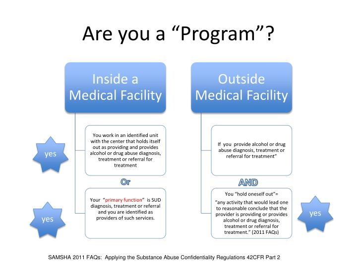 "Are you a ""Program""?"
