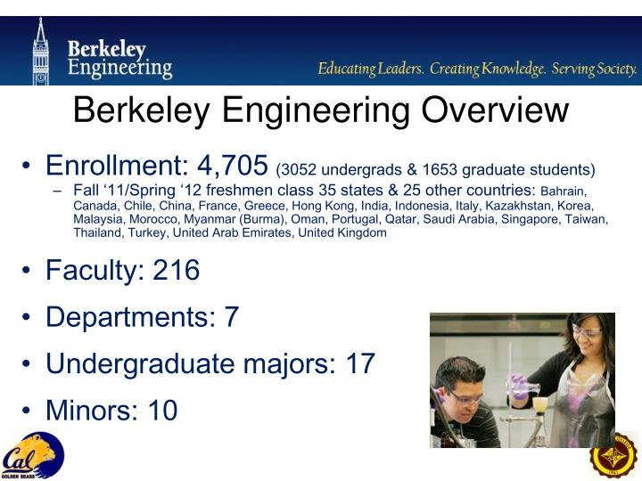 Berkeley Engineering Overview