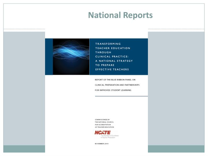 National Reports