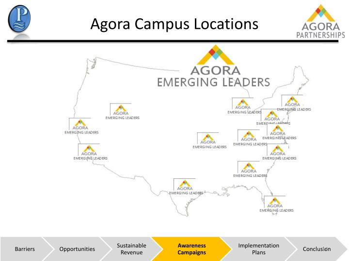 Agora Campus Locations
