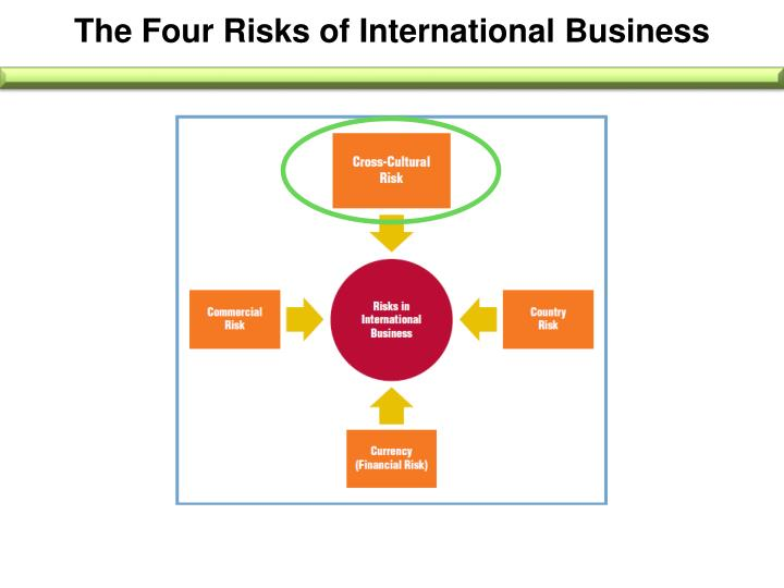 The Four Risks of International Business