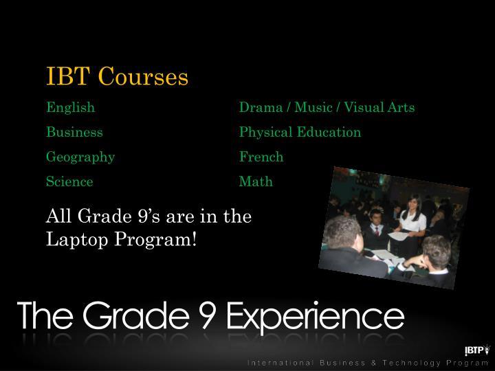 IBT Courses