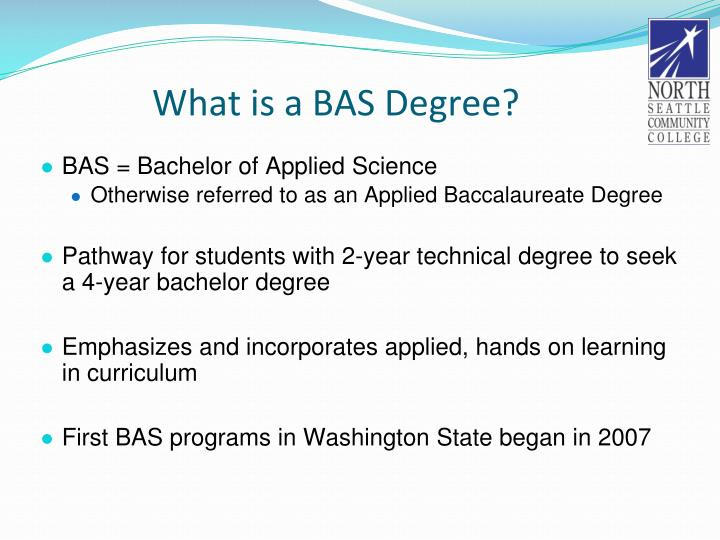 What is a BAS Degree?
