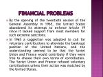 financial problems12