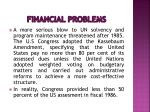 financial problems14