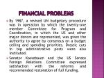 financial problems15