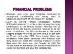 financial problems16