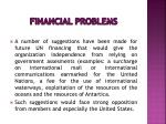 financial problems17